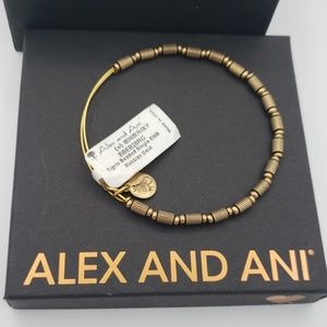 NWT Alex and Ani Tigris Beaded Bangle